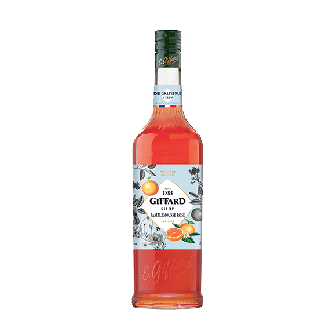 Giffard Syrup Pink Grapefruit